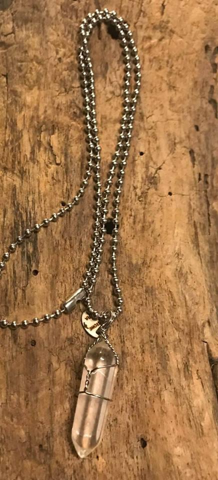 tiny buddha necklace tiger stone era manon tremblay