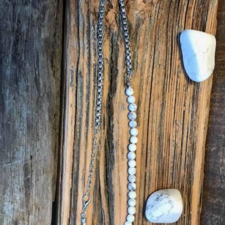 MANON TREMBLAY STONE ERA WHITE TURQUOISE LONG SEMICOLON OTTAWA NATURAL STONE
