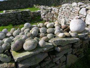 Inishmurray cursing stones