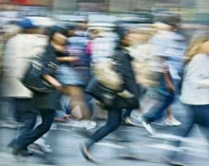 people-rushing