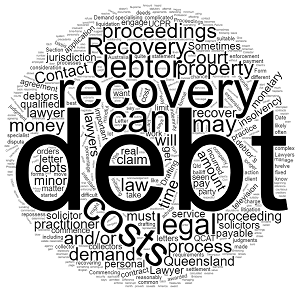 debt recovery lawyer debt recovery solicitor queensland Australia