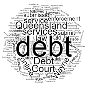 about us debt recovery lawyers in Queensland