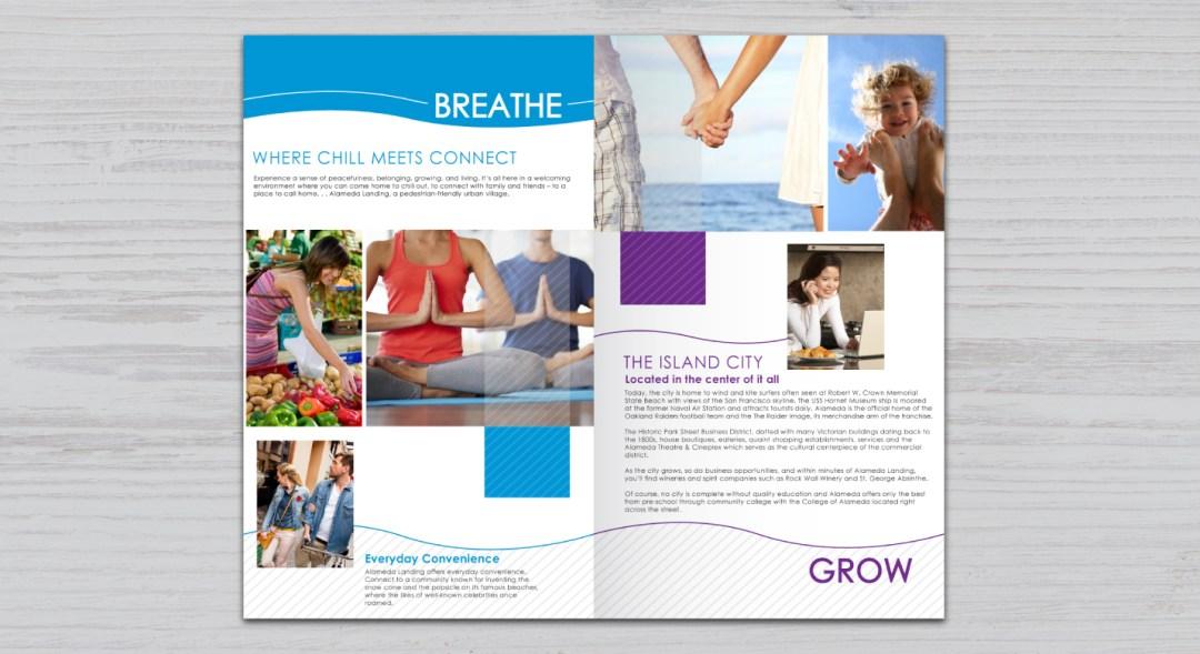 Design of Home Development Brochure