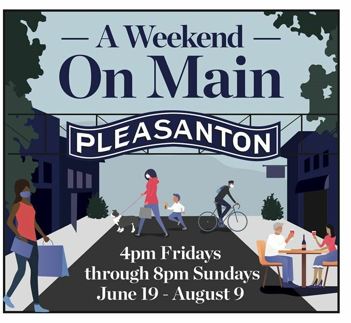 Last Weekend For Weekend On Main In Downtown Pleasanton