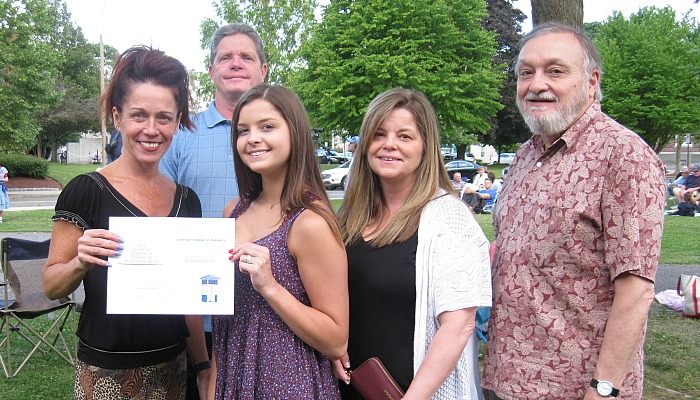 Ashley Doherty awarded Kathleen E. Bray Scholarship