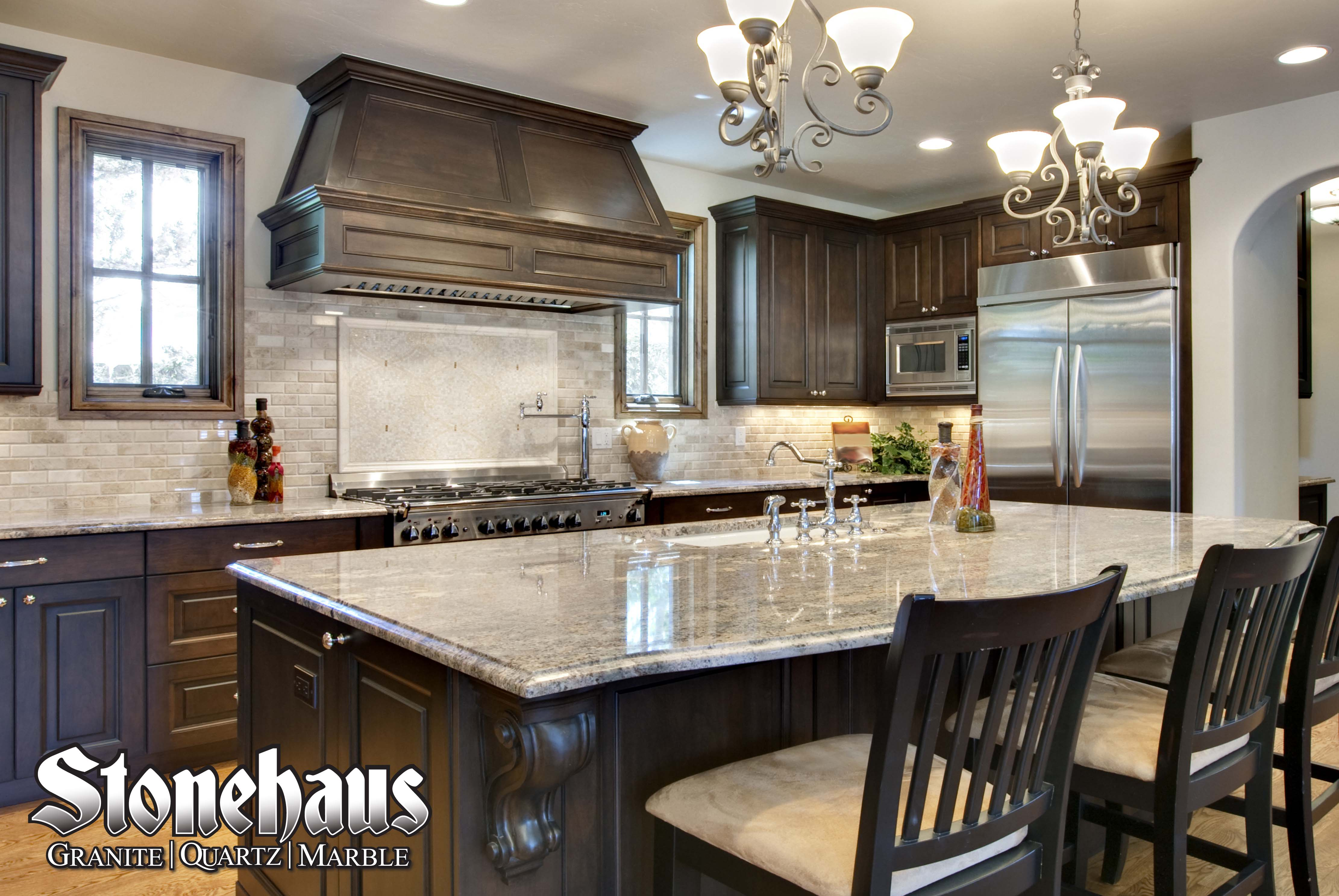 granite kitchens under cabinet kitchen lighting stonehaus gallery