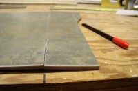How To Cut A Ceramic Tile By Hand | Tile Design Ideas
