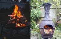Chimineas vs. Fire Pits - Stone Hearth Firewood
