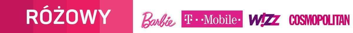 Kolor różowy w marketingu