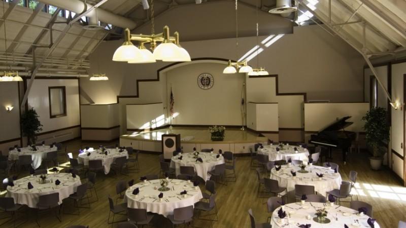 Alumni Hall Auditorium  Stonehill College