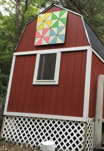 Chicken Coop Barn Quilt