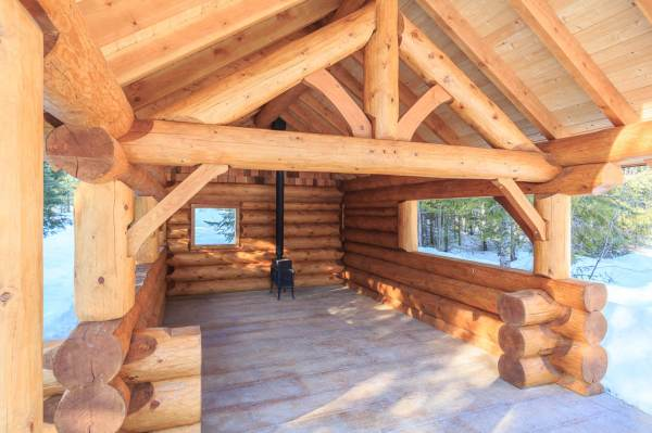 Stonehouse Woodworks Post And Beam Log Homes Modern