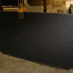 Mosaic Kitchen Floor Tiles Custom Islands Indian Black Pearl Granite | Stone Ideas ...