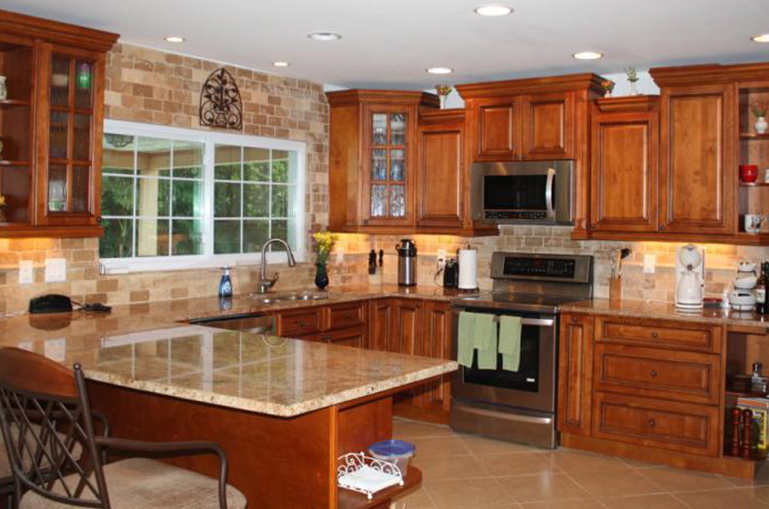kitchen cabinets orlando hotel with houston perfectly cut granite edges | stone int., counter top