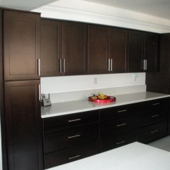 Espresso Shaker Kitchen Cabinets White Oak Dark Stone International