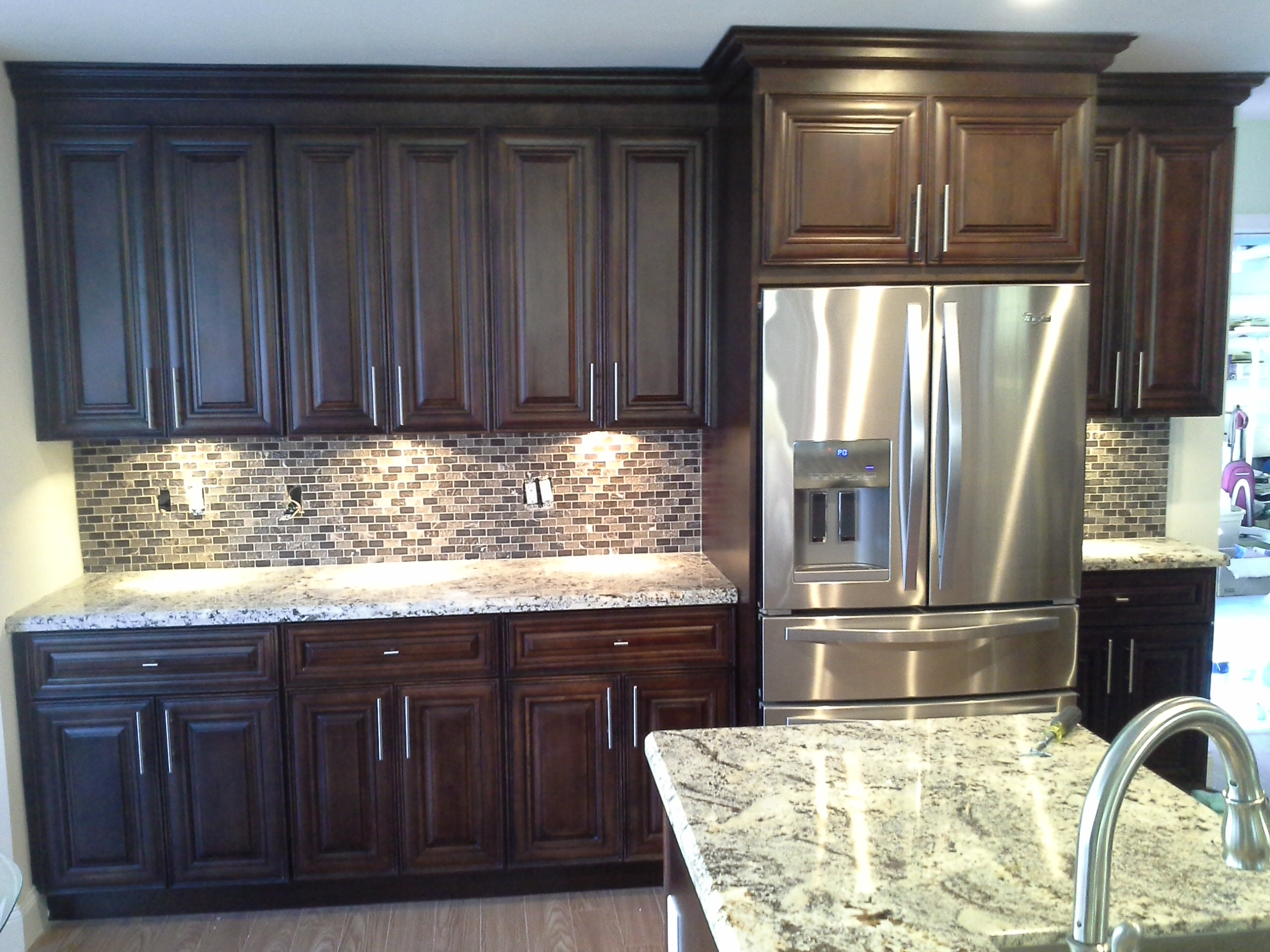Kitchen Cabinets Wholesale Mocha Cabinets