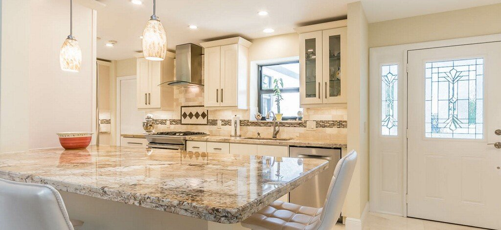 Off White Cabinets  Classic Kitchen Cabinets Miami