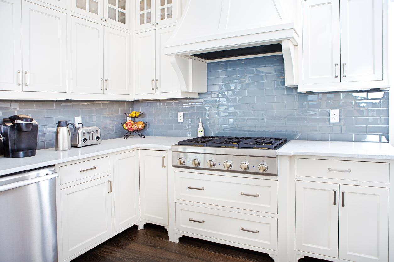 White Shaker Kitchen Cabinets  Stone International