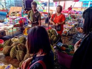 Buying durian