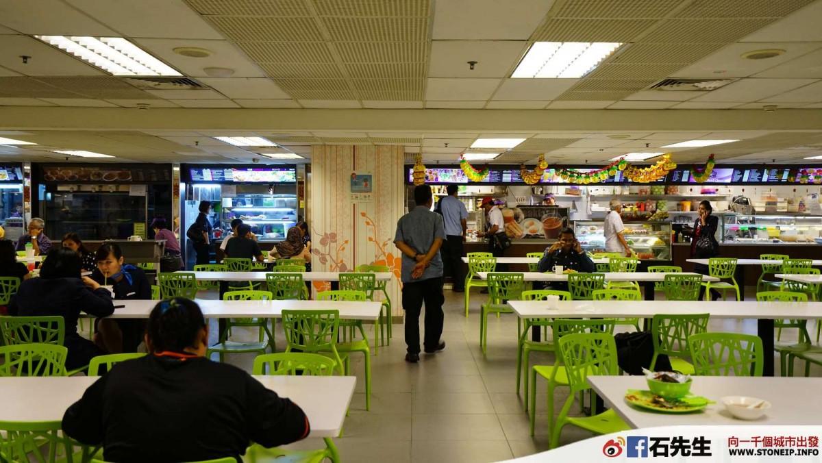 【新加坡】樟宜機場第一航廈華麗的員工餐廳(Singapore Changi Airport T1 Staff Canteen)- 誰都可以進來吃   石先生
