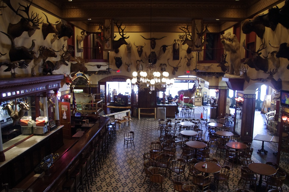 The Old Buckhorn Museum Amp Saloon Eateries Dives