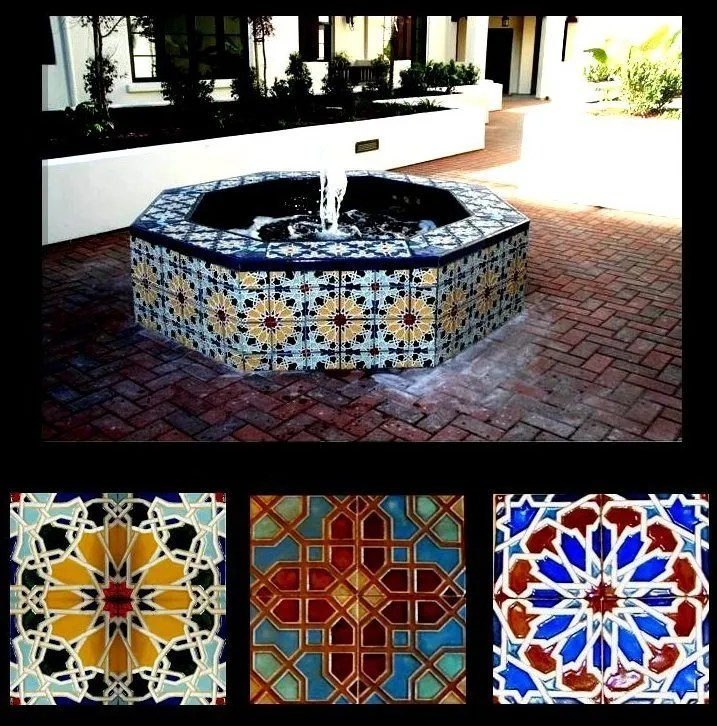Custom Mural Design Ceramic San Jose CA Stonelight Tile - Custom ceramic tiles maker