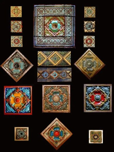Stonelight Tile Inc San Jose CA Custom Tile tudor-rose-series: