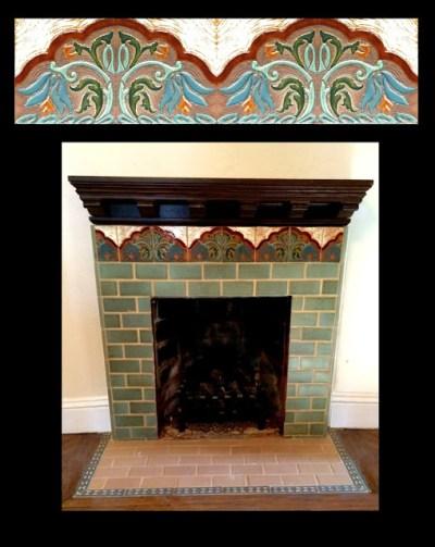 Cristys custom fireplace 2