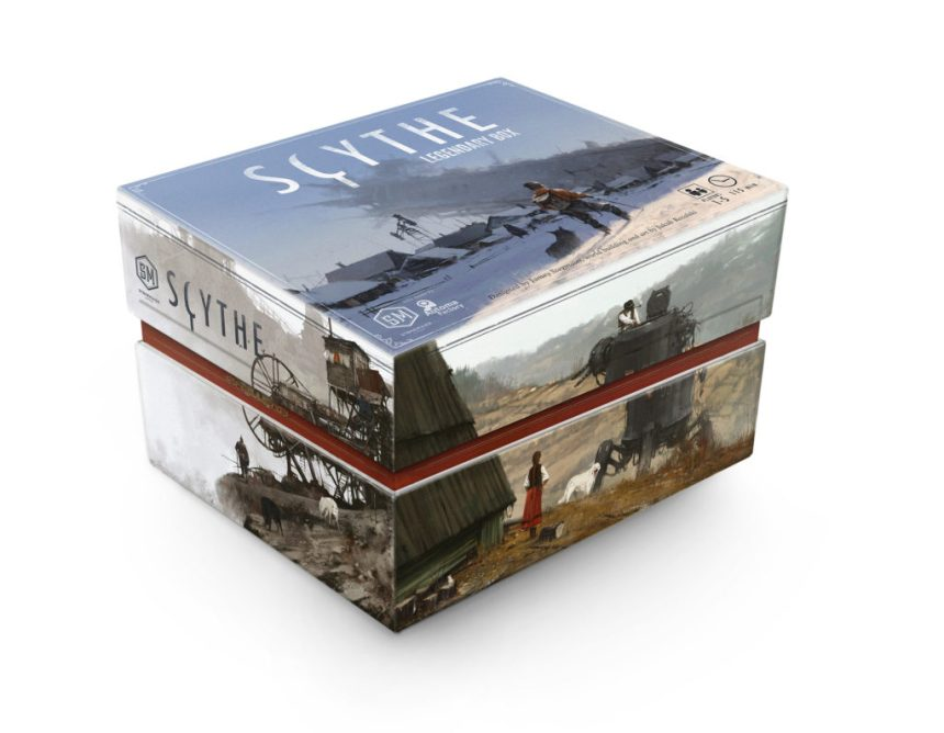 Image result for Scythe Legendary Box