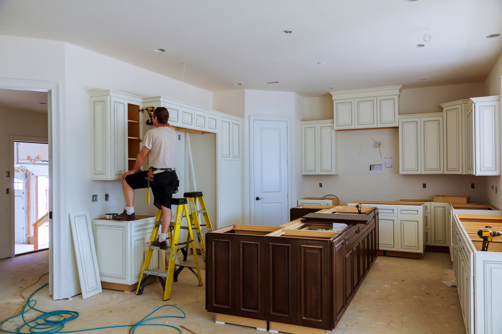 General Contracting Cabinet install