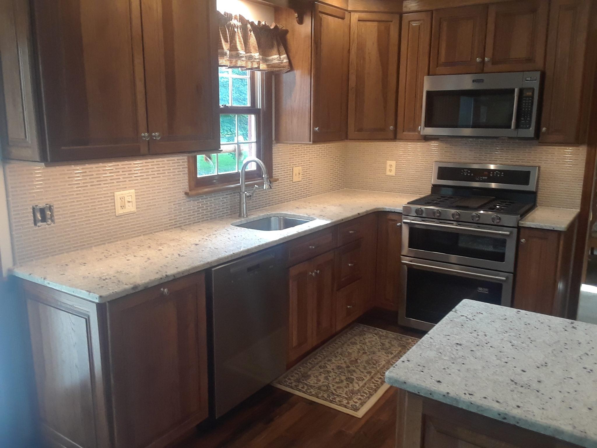 Kitchen Dark Tiles