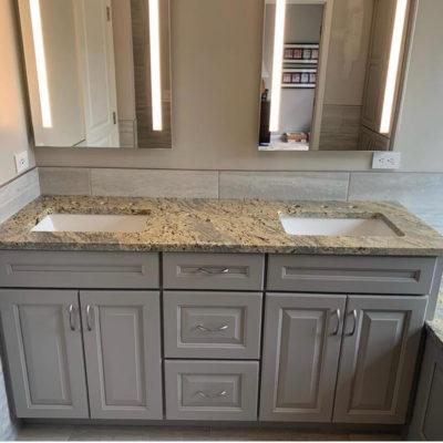 Semi Custom Cabinets Bathroom Remodel Kennett Square PA