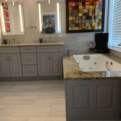 Semi Custom Kennett Square Bathroom Remodeling Project