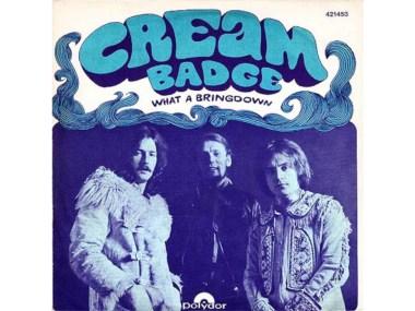 Cream, Badge, Clapton, Harrison, Stonemusic