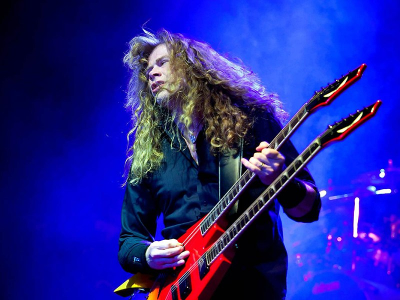 Dave Mustaine, Megadeth, Classic Rock, stonemusic.it