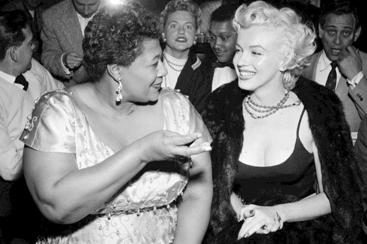 Quando Marilyn Monroe divenne amica di Ella Fitzgerald