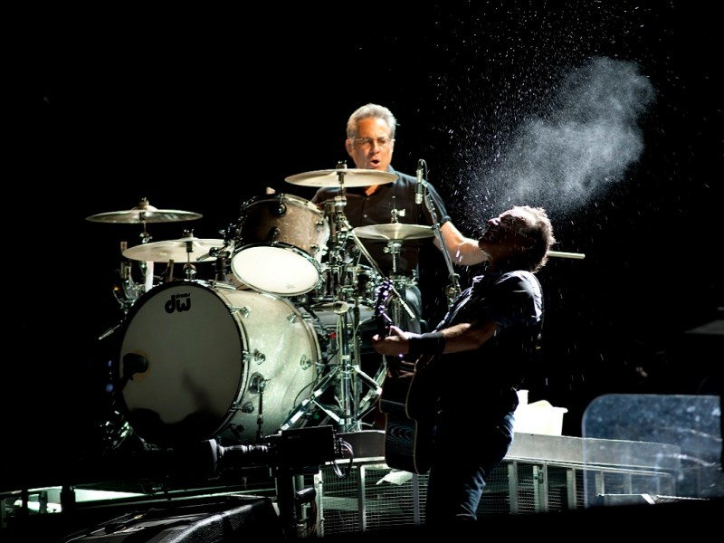Bruce Springsteen & The E Street Band On Stage