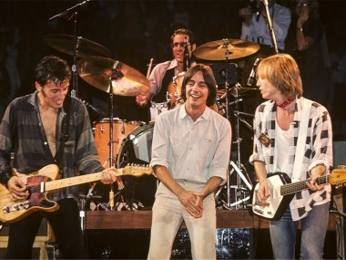Springsteen, Jackson Browne, Tom Petty