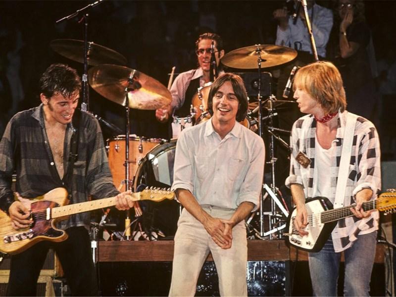 Springsteen, Jackson Browne, Tom Petty