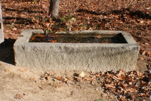 Granite Watering Trough