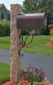 golden-wheat-mailbox-post-iron-bracket