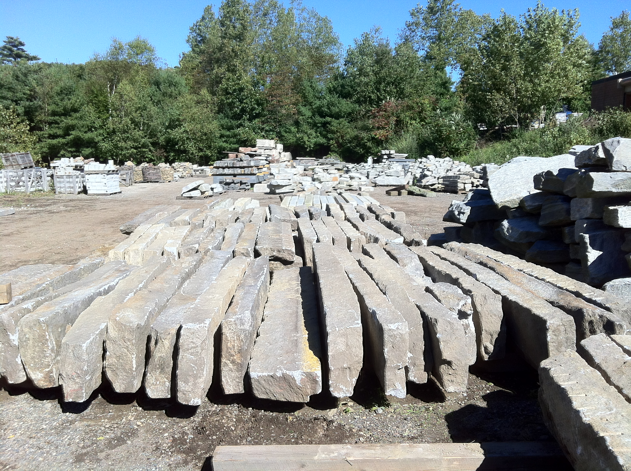 Reclaimed and Salvaged Granite Curbing – Stone of New England