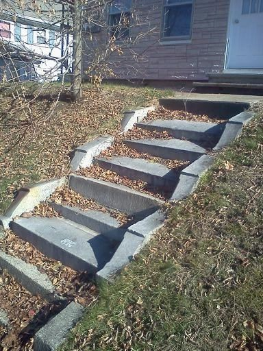 Reclaimed Granite Step Sets