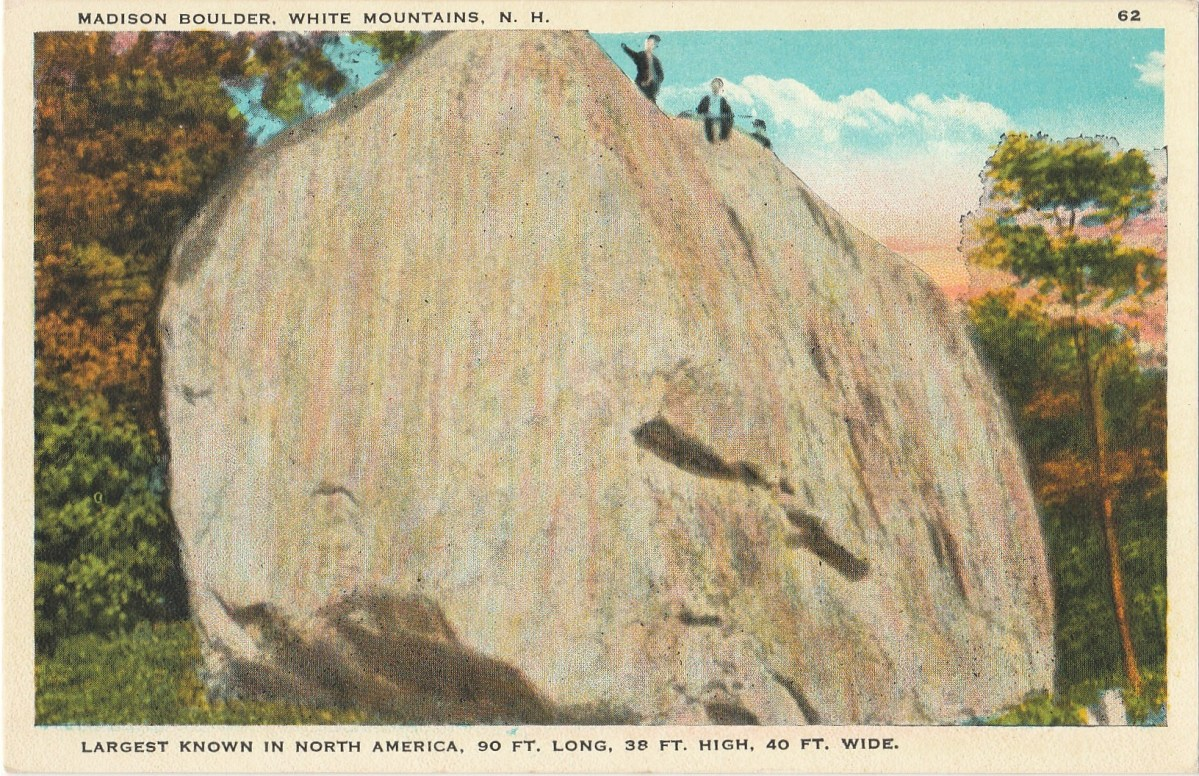 Madison Boulder Post Card