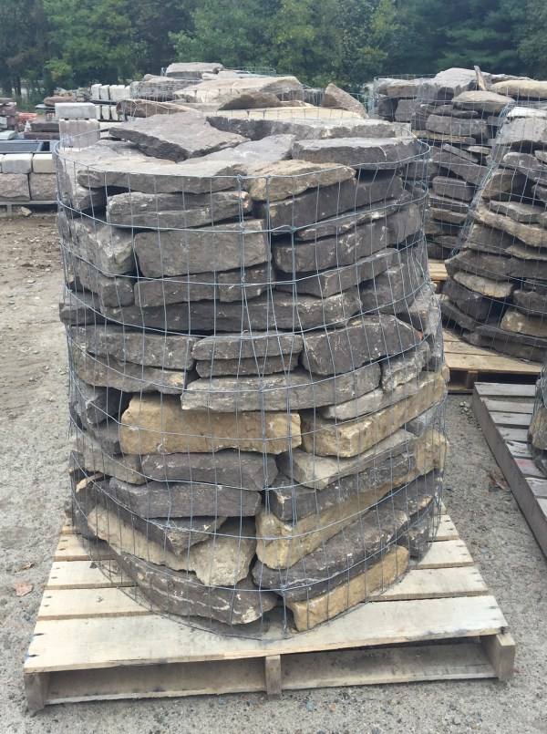 Palletized New ENgland Fieldstone