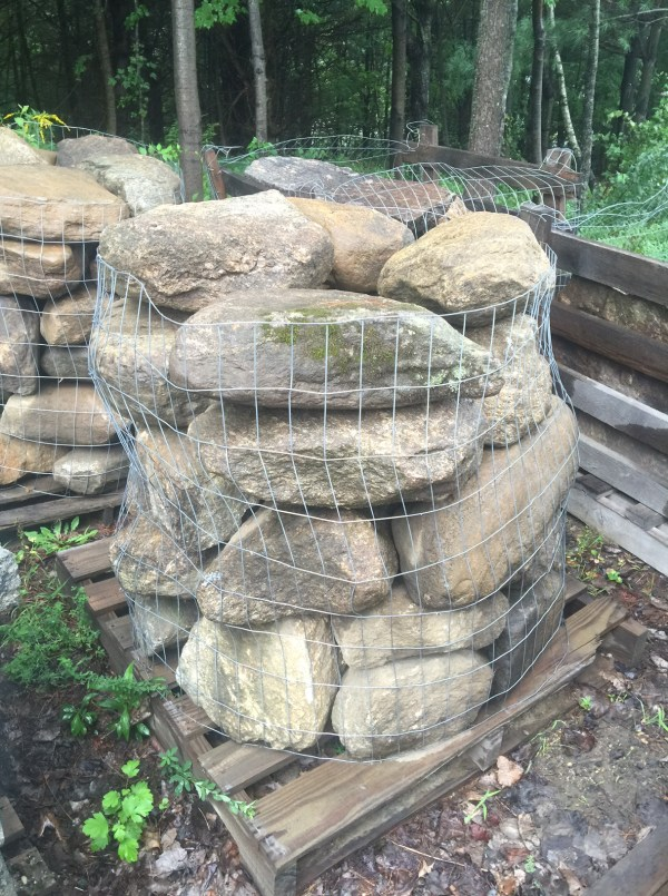 Palletized New England Fielstone - Wall Run