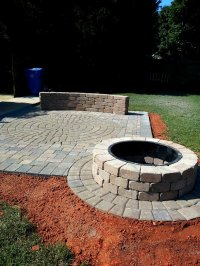 Outdoor Fire Pit | Charlotte Pavers and Stone