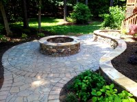 Large Natural Stone Fire Pit | Joy Studio Design Gallery ...