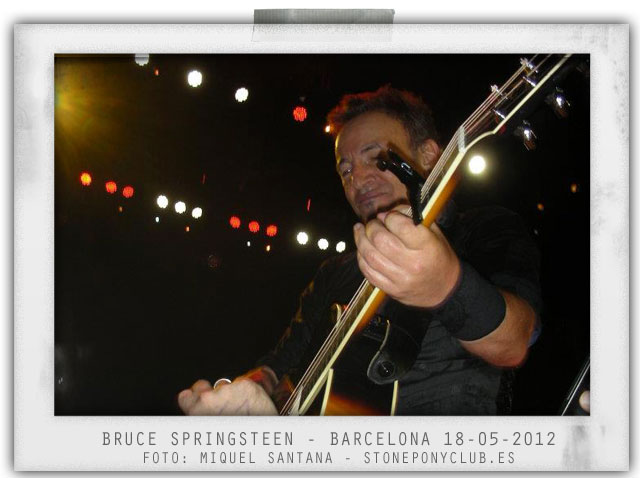 bruce springsteen barcelona 2012