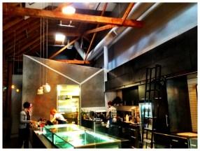 Espresso/Kitchen Area